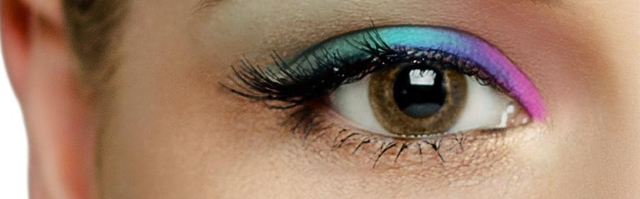 Das Foto zeigt unsere Braune Farbige Kontaktlinsen