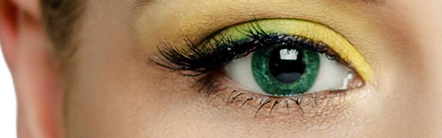 Das Foto zeigt unsere Grüne Farbige Kontaktlinsen