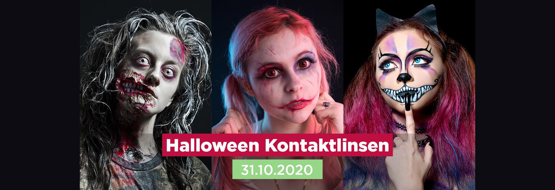 Halloween Kontaktlinsen 2020 31.10.2020