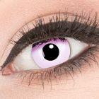Das Produktfoto zeigt unsere Crazy pinke Farbige Kontaktlinse Pink in einem echten Auge