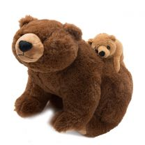 Teddy Bär mit Baby