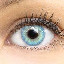 Jasmine Light Blue Blau - blaue farbige Kontaktlinsen mit und ohne Stärke