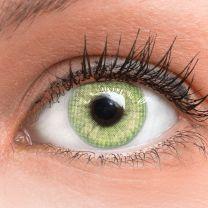 Jasmine Light Green Grün - grüne farbige Kontaktlinsen mit und ohne Stärke