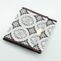 Tatami Portemonnaie Crest weiß schwarz