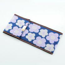 Tatami Etui Flower blau lila