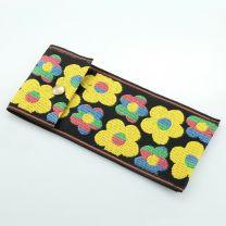 Tatami Etui Flower schwarz mehrfarbig