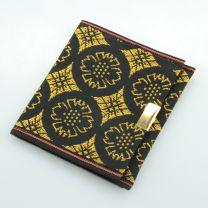 Tatami Portemonnaie Crest gold schwarz