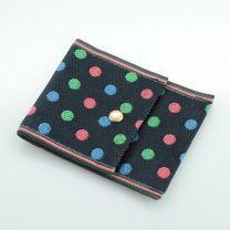 Tatami Portemonnaie Polka dot schwarz mehrfarbig