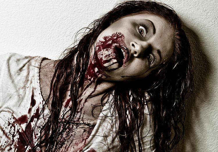 Unser Geheimtip für ein Halloween Zombie Kostüm: Unser Tipp: Kunstblut