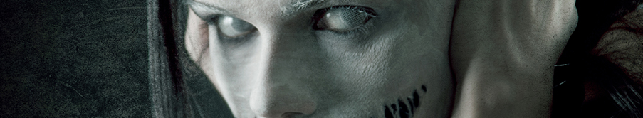 Farbige Halloween Kontaktlinsen mit Stärke von MeralenS