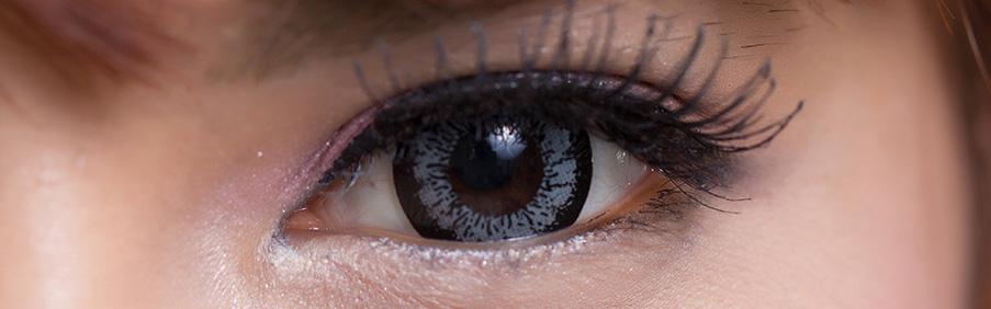 Farbige Beauty Big Eyes Kontaktlinsen in Blau, Grün, Braun und Dunkelbraun