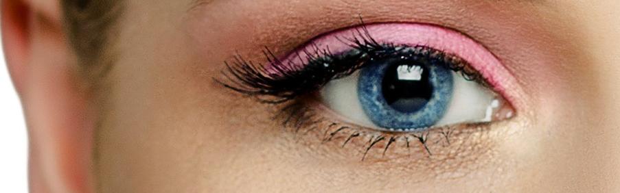 Das Foto zeigt unsere Blaue Farbige Kontaktlinsen