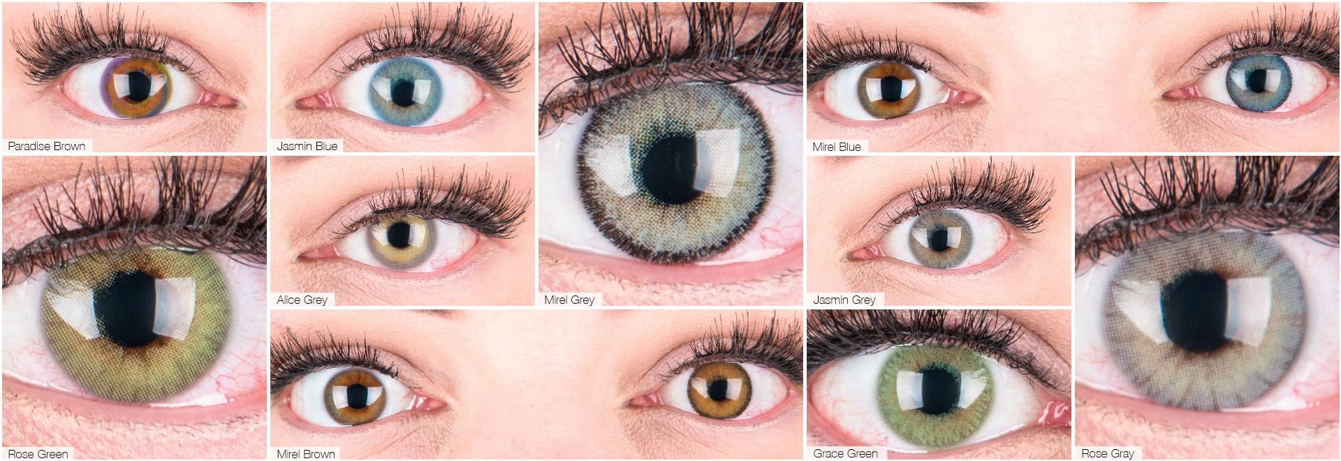 Natürliche Farbige Kontaktlinsen in Top Qualität von Funnylens.de